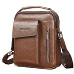 Messenger PU Leather Shoulder Travel Casual Handbags