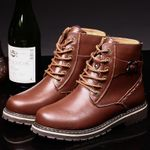 Fashion Retro Comfortable Casual Luxury Genuine Leather Boots