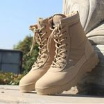 Breathable Military Combat Desert Fashion Boots