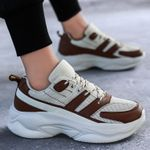 Breathable Sports Casual Fashion Mesh Chunky Sneakers