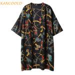 Fashion Floral Print Cover Ups Casual Cardigan Boho Coat