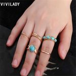 Stones Steampunk Finger Midi Knuckle Bohemian Ring