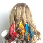 Hippie Feather Feather Boho Headband