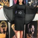 Elegant Slim  Pencil Chiffon Office Dress