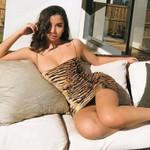 Sleeveless  Backless Sexy Leopard Dress