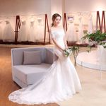 Short Sleeve Off The Shoulder Vintage Lace Mermaid Wedding Dresses