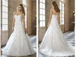 bridal gown a-line beaded fashionable vintage wedding dresses