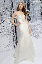 fashion long crystal beaded stain wedding Dresses
