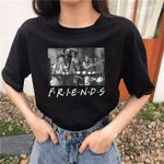 Halloween Friends Fun Weird Clown Fashion Casual T-Shirt