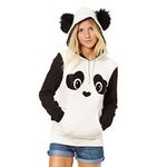 Panda Pocket Hooded Pullover hoodies