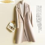 Double Side Korean Long Wool Coat