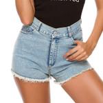 Vintage Casual High Waist Booty Denim Shorts