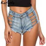 Mini Sexy High Waist Denim Shorts