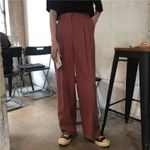 Straight Casual Wide Leg Trousers Suit Chic Loose Pants