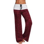 Casual Wide Leg High Waist Loose Casual Long Pants