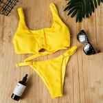 Bandage Push Up Padded Bathing Sexy Bikini