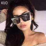 Fashion Big Frame Windproof Shades Sunglasses