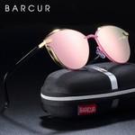 Round Luxury Polarized Sunglasses