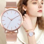 Simple Fashion Stainless Steel Wrist Luxury Elegant Watches