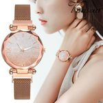 Magnetic stainless steel strap Retro Luxury Watches