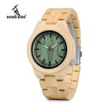 Natural Quartz Wrist  Wooden Watches