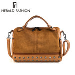 Fashion Leather Shoulder Retro Tote Handbags