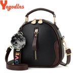 Fashion Shell Portable Shoulder Fashion PU Leather Elegant Handbag