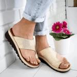 PU Leather Casual Soft Big Toe Foot Flat Shoes