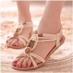 Beach Flip Flops Fashion  Gladiator flat Sandals