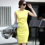 Casual Party Pencil Elegant Office Dress