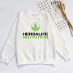nutrition Printed Logo Graphic Sweatshirt