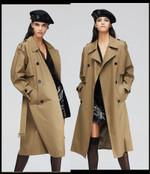 double-breasted windbreaker Classics Trench coat