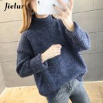 Loose Warm Turtleneck Knitted Sweaters