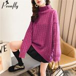 Casual Elegant Soft Warm Fashion Turtleneck Sweater