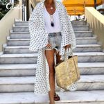 Cover Up Shirts Sexy Fashion Ruffles Long Cardigan Kimono
