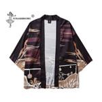 Cardigan Printed Casual Cosplay Costumes Unisex Kimono