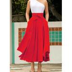 Pleated Fashion Vintage High Waist Skirts