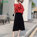 Pleated High Waist Breathable Casual Elegant Skirt