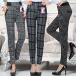 Slim High Waist Stretch Pencil Pants