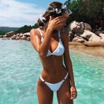 High Waist Brazilian   Push  Sexy Bikini