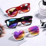 Holographic Colorful Celebrity  festival Sunglasses