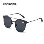 Unisex Style Metal Hinges Stainless Polarized Sunglasses