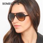 Dames Classical Big Frame Pilot Sunglasses