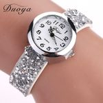 Rhinestone  Luxury Crystal Bracelet Quartz Wrist Watch