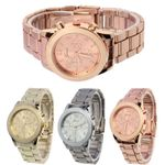Luxury Unisex Stainless Steel  Fashion Watch