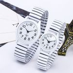 Tide Fashion Vintage  Elastic Quartz Watch