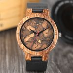 Leaves Face Wrist Creative Simple Wood Watches
