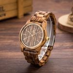 Unisex Fashion Luxury Wood Watches