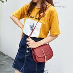 Fashion Pu Shoulder Messenger  Tassels Handbags