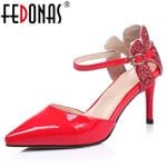Elegant Pumps  Genuine Leather High Heels